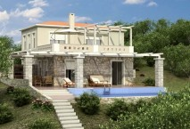 New build Energy saving villa