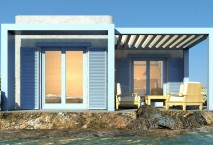 New build home on the isl. of Naxos