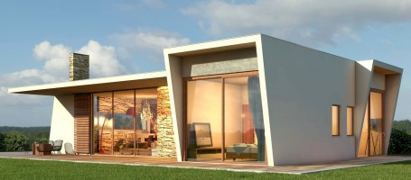 New build Energy saving house