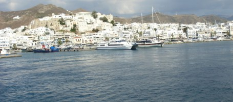 New build houses in Naxos