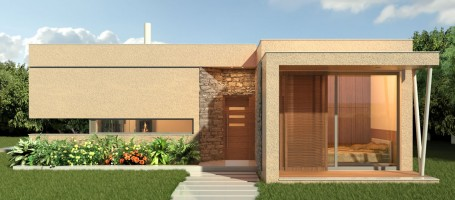 New build bungalow in Naxos