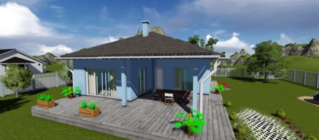 New build Bungalow on the beach
